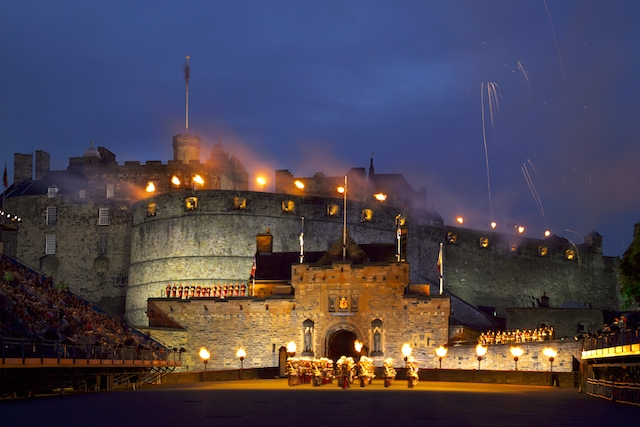 Schottland Edinburgh Castle